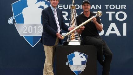 Saison 2013: Alle Turniersieger der European und PGA Tour
