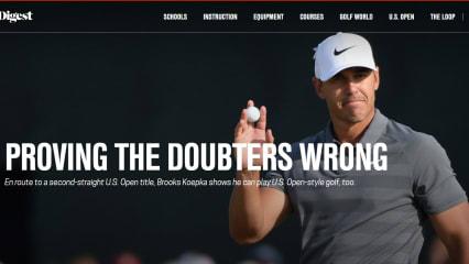 Unterschätzt und übersehen - Brooks Koepka behauptet sich als US-Open-Sieger