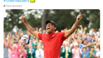 US Masters 2019: Stars gratulieren Tiger Woods