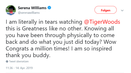 Tiger-Woods-US-Masters-2019-Serena-Williams