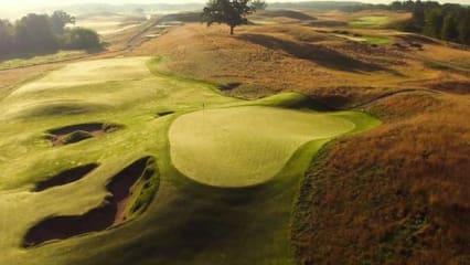 US Open in Erin Hills - Wo die Stars ihre Spuren hinterlassen