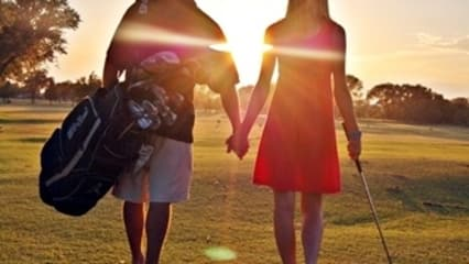 Valentinstag Golf