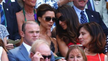 Wenn sie mal nicht golfen: Die Golf-Equipe in Wimbledon