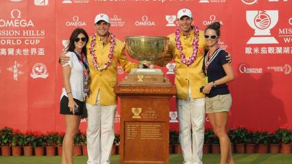 World Cup of Golf mit Siem und Kieffer