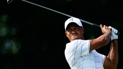 Tiger Woods bei der World Golf Championships Bridgestone Invitational