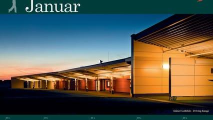 Golfkalender 2013 von Golf Post