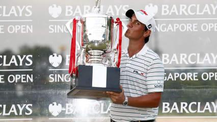 Matteo Manassero bei der Barclays Singapore Open