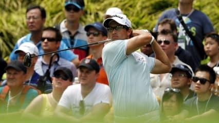 Adam Scott bei der Singapore Open 2012