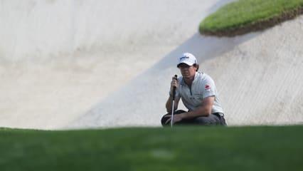 Rory McIlroy übt das Putten für die Tour Championship