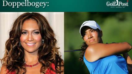 Jennifer Lopez Cheyenne Woods Golf