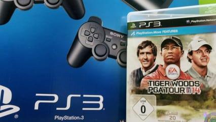 Playstation 3 + TIger Woods PGA Tour 14