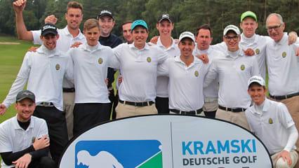 Herrenteam des Frankfurter GC. (Foto: DGV)