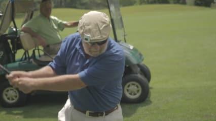 Blind Golfen - Dick Pomo aus den USA