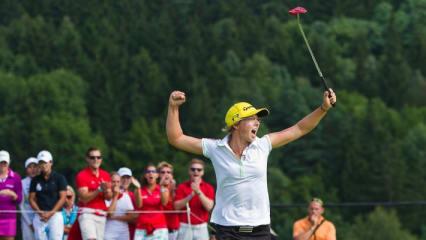 Anka Lindner freut sich als Titelverteidigerin auf das Sberbank Golf Masters in Tschechien.