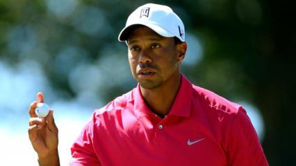 Tiger Woods bei der BMW Championship 2013 - er kassierte 2 Strafschläge mit Videobeweis.