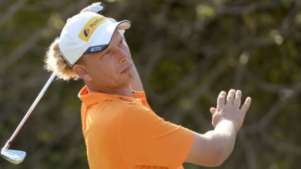 Marcel Siem bei der DP World Tour Championship.