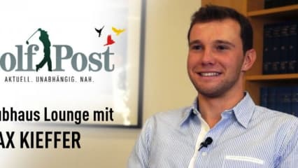 Max Kieffer im Golf Post Interview
