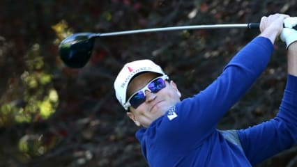 Zachn Johnson bei der Northwestern Mutual World Challenge 2013.