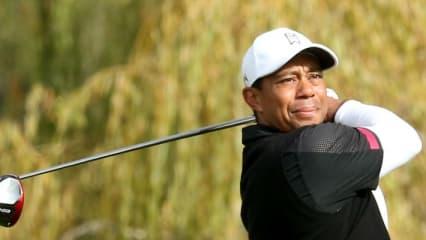 Tiger Woods bei der Northwestern Mutual World Challenge 2013.