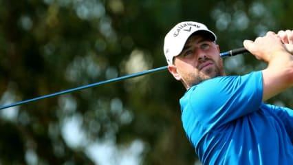 Craig Lee bei der Abu Dhabi HSBC Golf Championship