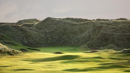 Was für ein Schätzchen: Der Doonbeg Golf Club, gekauft von Milliadär Trump. (Foto: Getty)