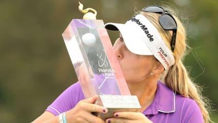 Mit einem Start-Ziel-Sieg sicherte sich Anna Nordqvist den Titel bei der Honda LPGA Thailand