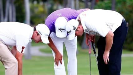 Eine gute Haltung ist wichtig, um möglichst lange beschwerdefrei Sport treiben zu können. Osteopathie soll deshalb jetzt auch im Golfsport helfen
