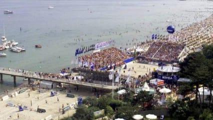 Der Timmendorfer Strand ist unteranderem bekannt für seine Beachvolleyball-Events. (Foto: Getty)