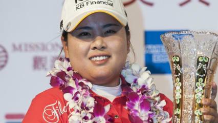 Inbee Park aus Südkorea sicherte sich bei der World Ladies Championship sowohl den Sieg in der Einzel- als auch der Teamwertung
