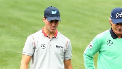 Bernhard Langer und Martin Kaymer halten die deutschen Farben beim Masters hoch, wobei Langer einen guten Auftakt erwischt und Kaymer sich steigern muss. (Foto: Getty)