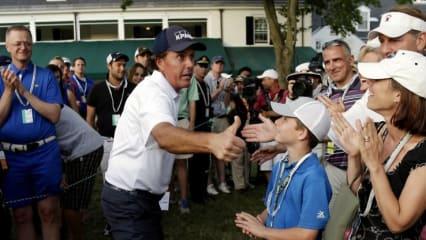 Phil Mickelsons Ausrüster verlost in einem Gewinnspiel die Siegprämie des Amerikaners bei der kommenden US Open. (Foto: Getty)