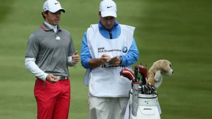 Blick ins Bag des BMW PGA Championship Siegers Rory McIlroy.