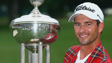 Adam Scott beim Crowne Plaza Invitational 2014