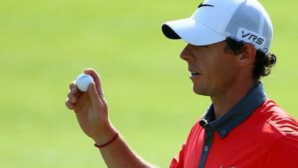 Rory McIlroy setzte sich mit einer starken Runde an die Spitze des Feldes beim the Memorial Tournament.