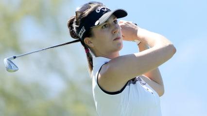 Top Ten im Visier: Sandra Gal bei der Kingsmill Championship.