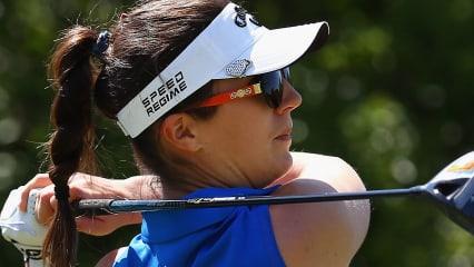 Sandra Gal macht wieder Druck - nach Abbruch der Runde liegt sie bei -2 auf T25, hat aber noch sechs Löcher nachzuholen. (Foto: Getty)