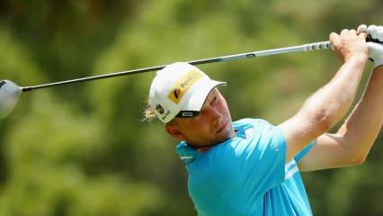 Marcel Siem bei der US Open 2014