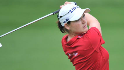 Raus aus dem Leistungstief! Caroline Masson spielte bei der Manulife Financial LPGA Classic eine gute Auftaktrunde und liegt nur einen Schlag hinter den Top Ten.