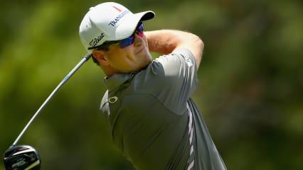 Zach Johnson glänzte am Finaltag der US Open an der neunten Spielbahn und notierte das erste Hole-in-One des Turniers (Foto: Getty).