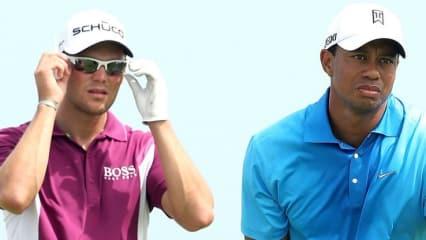 Da lohnt sich ein genauerer Blick! Beim Bridgestone Invitational geht Martin Kaymer an den ersten beiden Tagen zusammen mit Tiger Woods auf die Runde.