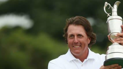 Wer kann Phil Mickelson die Trophäe streitig machen? Der Vorjahressieger gehört selbst wieder zu den Titelanwärtern.
