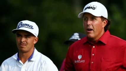 Können Rickie Fowler (links) und Phil Mickelson das Traumpaar des Team USA beim Ryder Cup werden? (Foto: Getty)