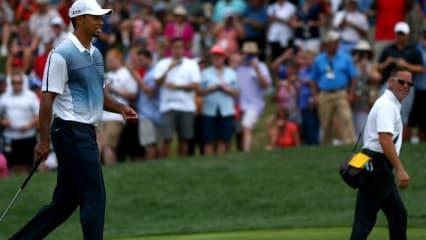 Tiger Woods und Sean Foley gehen von nun an getrennte Wege. Nach vier Jahren beendet Woods die Zusammenarbeit mit seinem Schwungtrainer. (Foto: Getty)