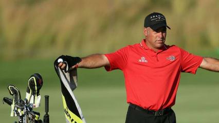 So viel - mehr hat häufig nicht gefehlt in der zweiten Runde des Südafrikaners: 62 Schläge, großer Sport. (Foto: Getty)