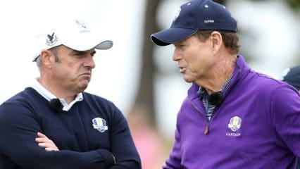 Die beiden Kapitäne tüfteln im Moment über den potentiellen Paarungen. (Foto: Getty)