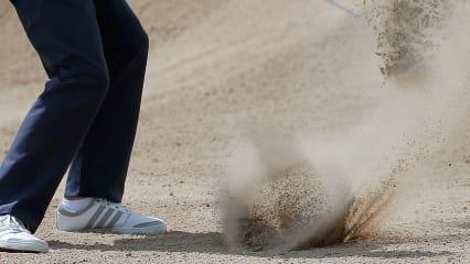 Für den GoPro-Bunkerschlag war ein guter Sandkontakt sehr wichtig. (Foto: Getty)