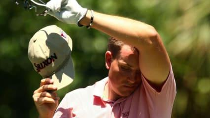 Auch Henrik Stenson als Titelverteidiger musste Federn lassen - und schied bereits vor dem Finale des FedExCup aus. (Foto: Getty)