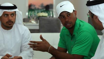 Millionen Dollar als Antrittsgeld für Tiger Woods sind den Scheichs im Nahenosten mittlerweile zu viel. Der Ex-Weltranglistenerste wird 2015 nicht zum Desert Swing eingeladen.