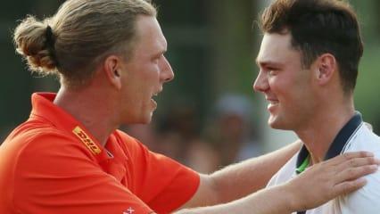 Marcel Siem und Martin Kaymer liegen nach dem ersten Tag der WGC-HSBC Champions aussichtsreich im Rennen um den Sieg in China.