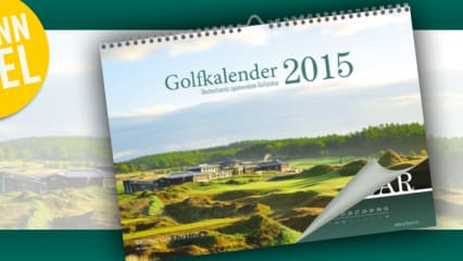 Gewinnspiel: Golfkalender 2015